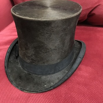 Top Hat picked up at garage sale