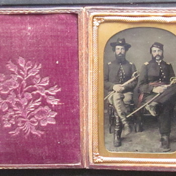 Cavalry Officers - Photographs