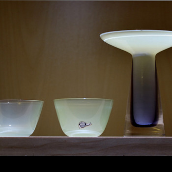 Small bowls - Gunnar Nylund for Strombergshyttan 1950s - 60s.