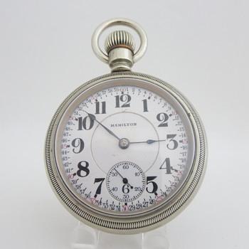Hamilton No. 940 Railroad Timekeeper