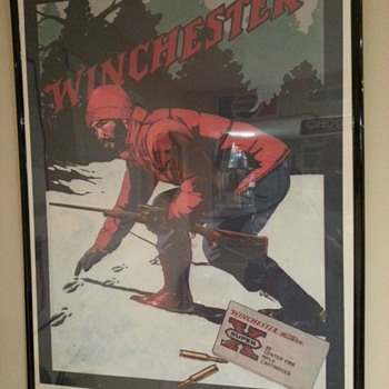 Winchester poster &quot;the Deer Hunter&quot; 1981