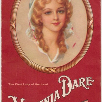 1937 - Virginia Dare Wine Recipes pamphlet