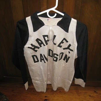 Harley Jersey,Motordrome,and other stuff I collect - Motorcycles