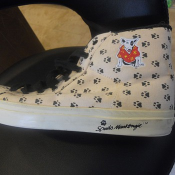 Spuds MacKenzie Sneakers - Breweriana