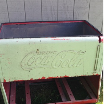 Coke cola cooler - Coca-Cola