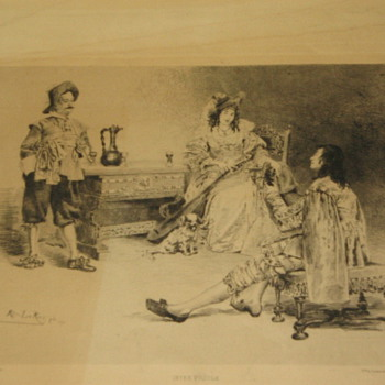 Inter POCULA lithograph