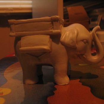 Tea light holder elephant