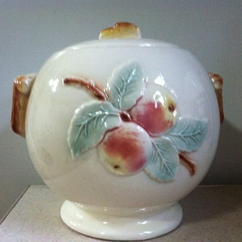 Robinson Ransbottom Cookie Jar - Art Pottery