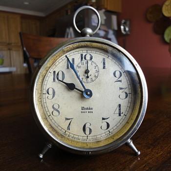 Vintage Westclox Baby Ben - Flea Market Find - $18