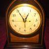 Telechron wooden alarm clock