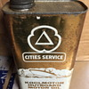 Cities Service Koolmotor outboard motor oil tin.