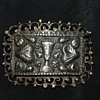 Egyptian Revival Silver Vintage Brooch