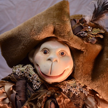 Victorian Pirate Monkey Doll
