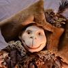 Victorian Pirate Monkey Doll