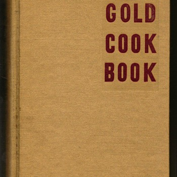 1947 - The Gold Cook Book - Books