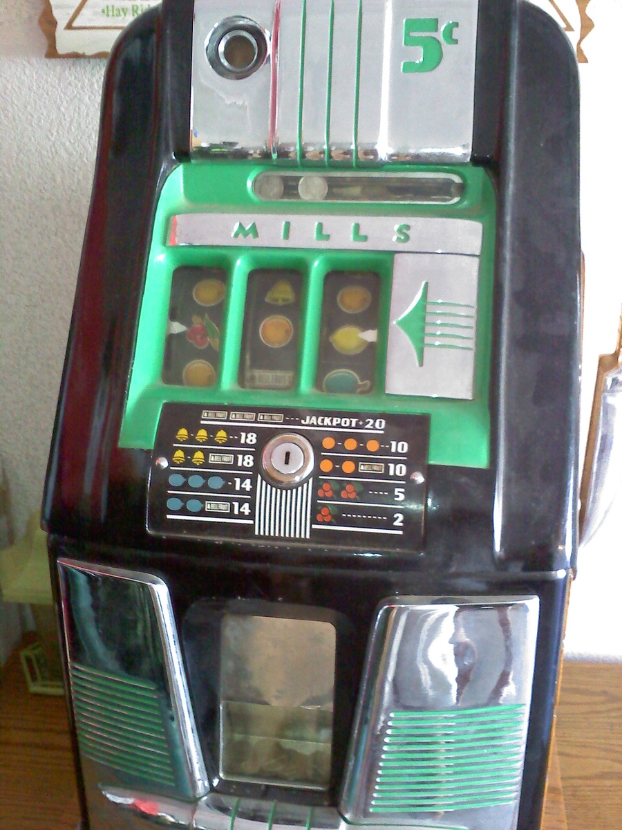Slot machine bell fruit