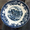 Monarh hand painted England plate