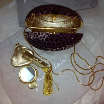 Need more info and maybe pricing for Moms Judith Leiber Egg clutch/handbag