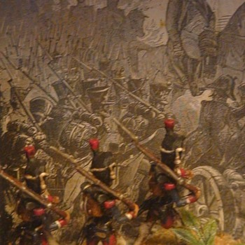 Napoleanic Army Diorama - Visual Art