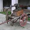 Antique Jpanese Rick-Shaw Fire Apparauts
