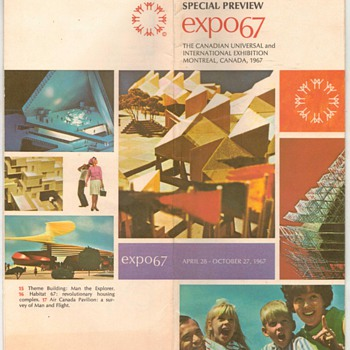 Canadian EXPO 67 Brochure - Paper