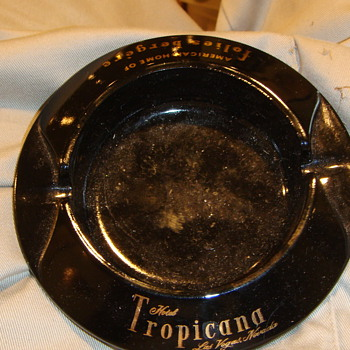 Vintage Tropicana Hotel Ashtray - Tobacciana