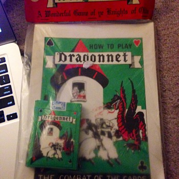 Dragonnet Card Game in original package.