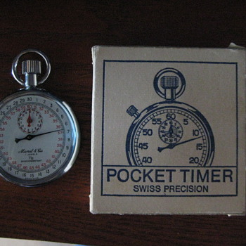 Marcel & Cie Swiss Pocket Timer - Pocket Watches