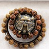 Unique Vegetable Ivory Button-The Green Man