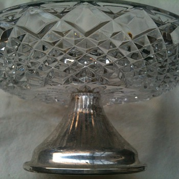Cut Glass & silver - Glassware