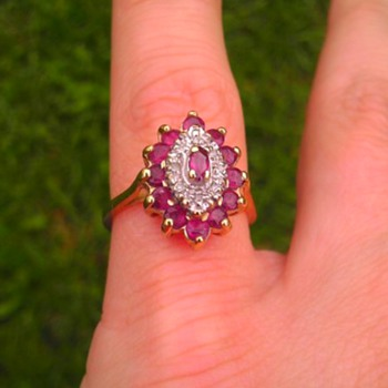 10k ruby ring - Fine Jewelry