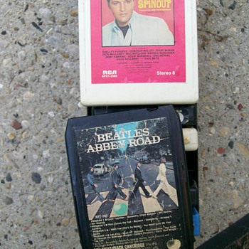 Ok I give I dug out 8 track player and Beatles ! also Elvis :-) - Music