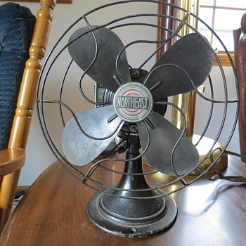 NorthEast 1920's rare fan.