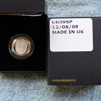 2009-the solid silver £1 proof coin with coa-royal mint.