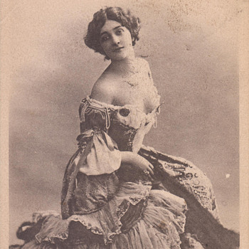 """World's Most Beautiful Woman"" Lina Cavalieri by Reutlinger"