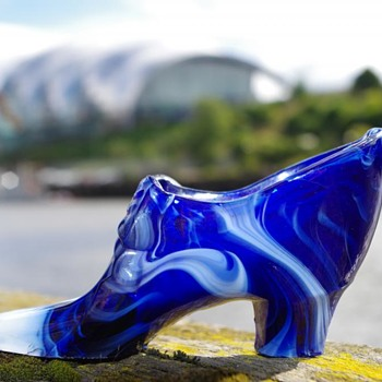 SOWERBY MALACHITE GLASS SHOE