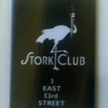 Stork Club Pocket Mirror - Advertising