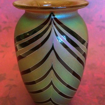 Small Craig Zweifel Feathered Vase