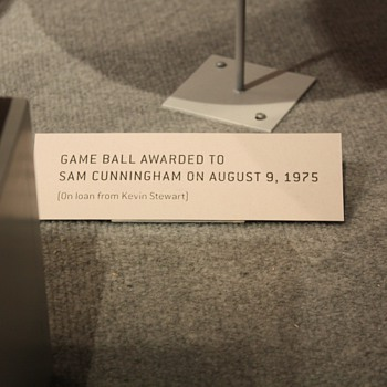 "Sam ""Bam"" Cunningham Game Presentation Ball - Football"