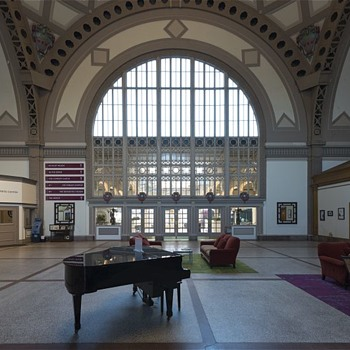 The stunning architecture of the Chattanooga Train Terminal (saved from the wrecking ball and converted into a hotel) - Railroadiana