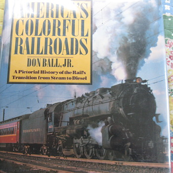 Book on Trains ... - Railroadiana