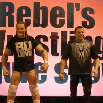 Elite Bo Dallas ,Jerry Lawler & .& Create a Superstar figures.