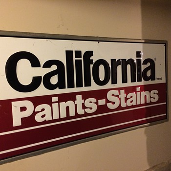 California Paints Sign - Signs