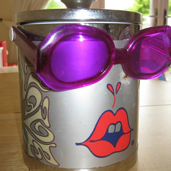 Peter Max Two Faced Ice Bucket :)