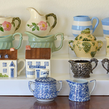 My Collection of Sugar & Creamers - Kitchen