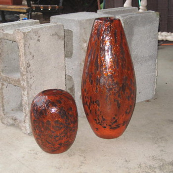 Hand blown Vase ? - Art Glass