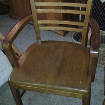 B. L. Marble Chair