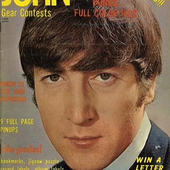 John Lennon Magazine-1964