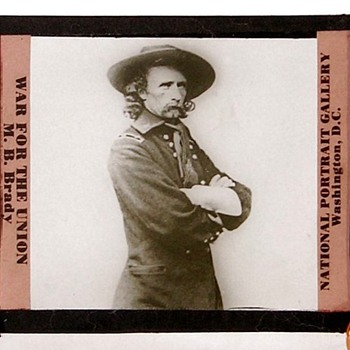 war for the union Matthew Brady lantern slide. - Photographs
