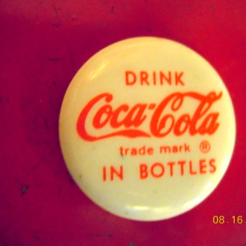 More 1950's Coca-Cola Buttons